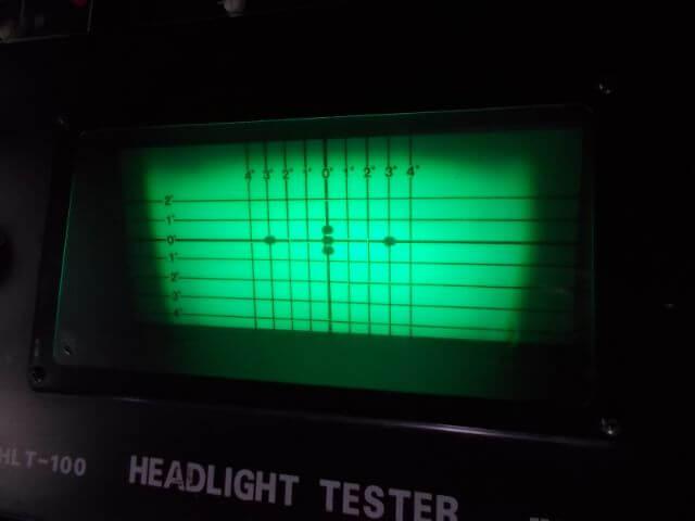 安物LED のカットラインは全くない
