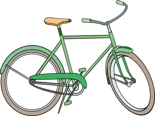 自転車の方が膝に負担がかからない