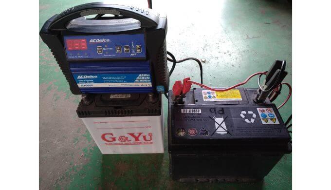 バッテリーが弱る季節 パルス充電器で復活させる