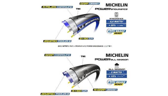ミシュランのタイヤ構造