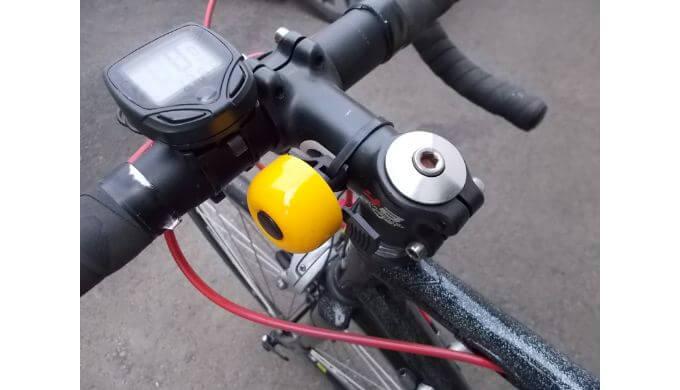 自転車にもベルが必要