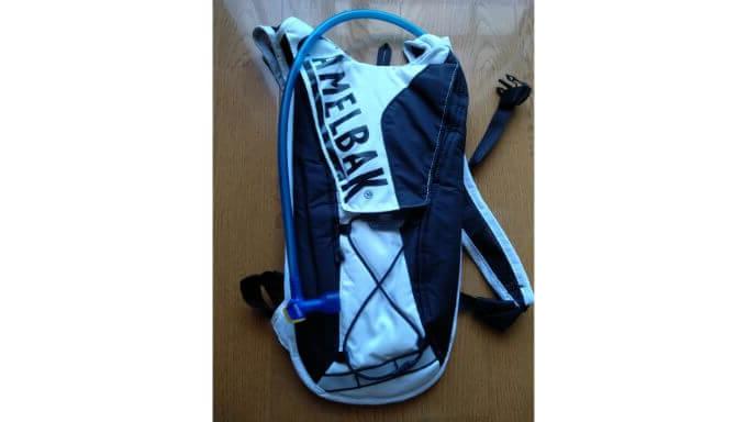 キャメルバックのハイドレーションバッグ